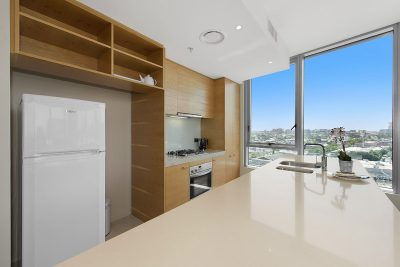 Modern kitchens in all apartments