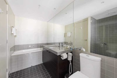 Modern architect designed bathrooms