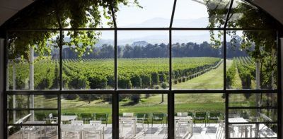 Domain Chandon in Yarra Valley