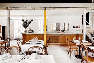 French restaurant near Docklands