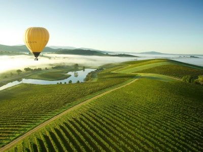 Hot Air Ballooning over Yarra Valley