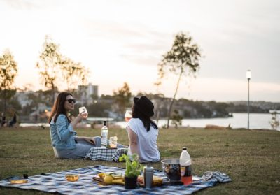Picnic in the Park in Docklands